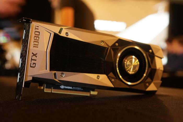 엔비디아의 지포스 GTX 1080 Ti