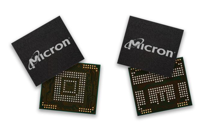 마이크론의 모바일 기기용 3D NAND 플래시 칩