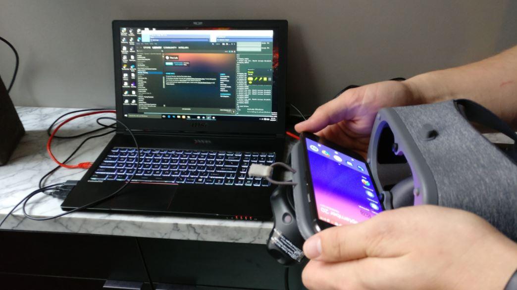 프로젝트 알로이 기술 일부는 PC에서 스마트폰으로 VR 영상을 투영할 때 개념 증명으로 재사용된다.