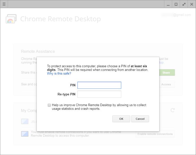 사용자만의 PIN 번호로 안전을 유지할 수 있다.