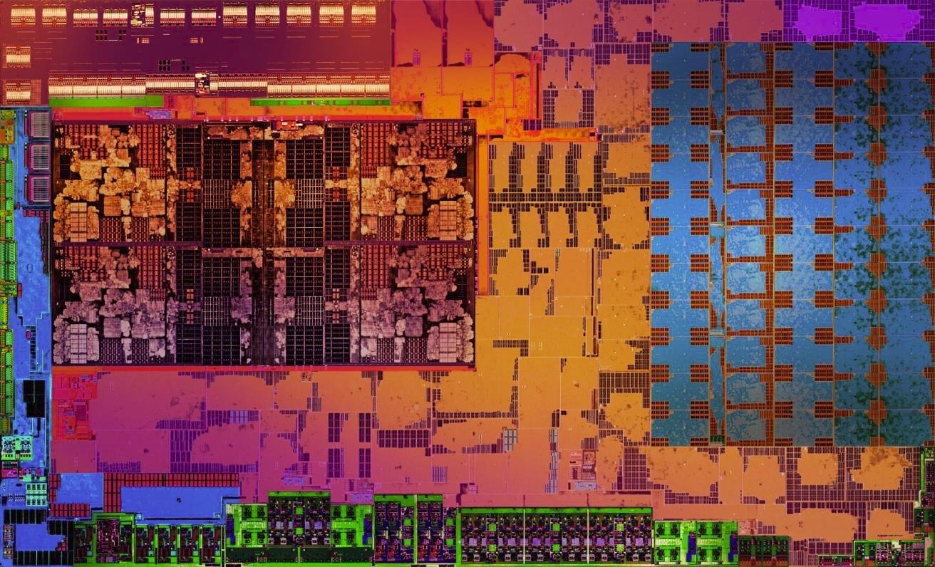 노트북 PC용 라이젠의 내부