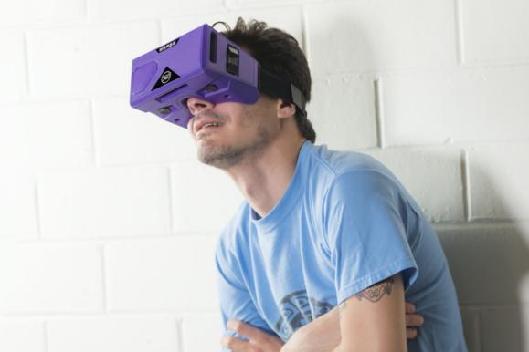 머지 VR의 고글스