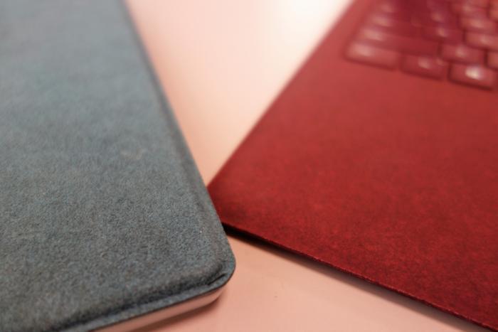 마이크로소프트는 서피스 랩톱에 총 4가지 색상 옵션을 제공하는데, 모든 모델에서 다 제공하는 것은 아니다.