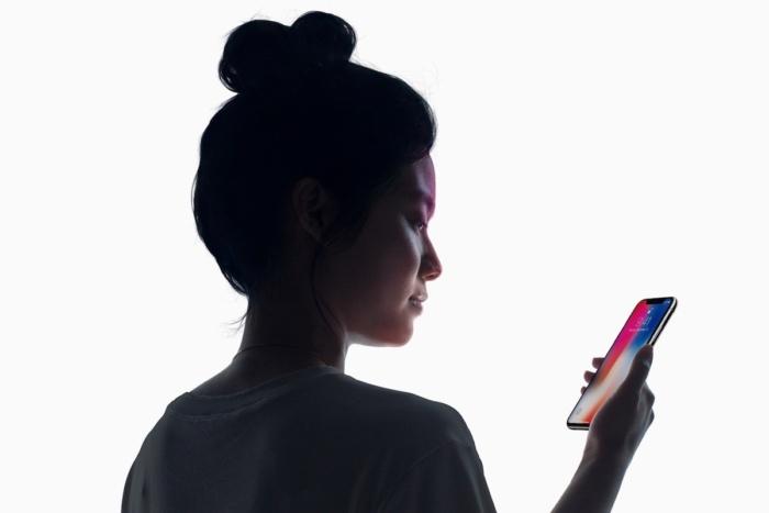 아이폰 X에 적용된 얼굴 인식 기능 '페이스 ID'