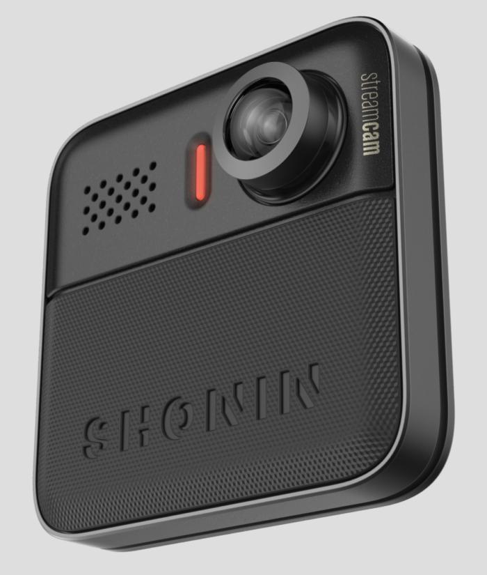 쇼닌 스트림캠은 차세대 웨어러블 카메라다. 1세대와 크기와 모양이 같으나 소프트웨어나 렌즈가 발전했다.