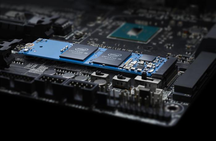 옵테인 메모리의 캐싱은 SATA를 SSD만큼 빠르게 느끼도록 한다.