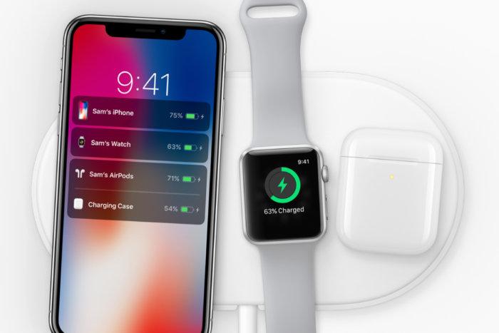애플의 에어파워 충전 패드는 2018 년에 출시될 예정이다.