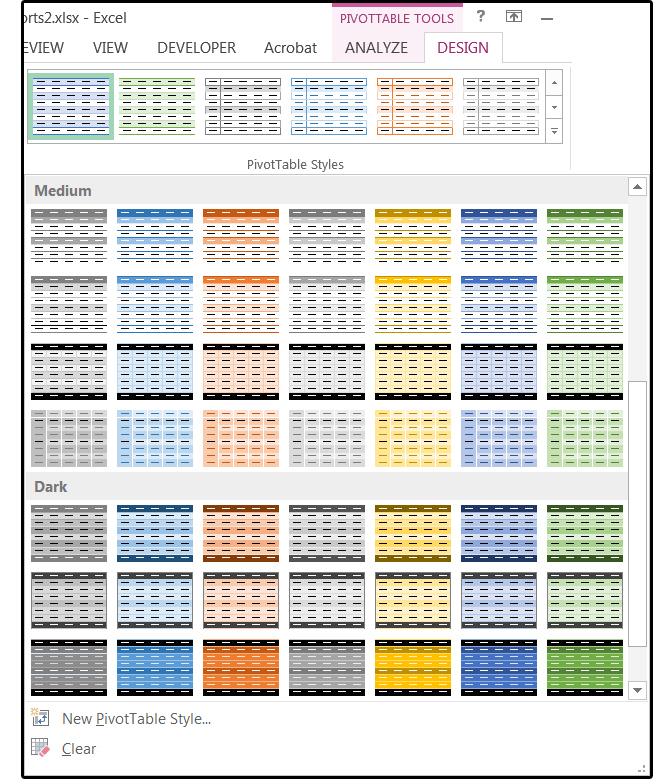 원하는 컬러를 선택해 다양한 모양의 테이블을 꾸밀 수 있다.