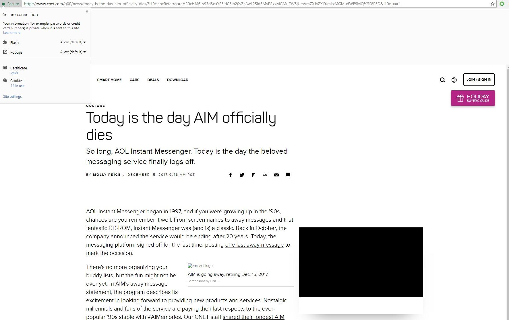 흥미롭게도, 크롬 버전 64는 몇몇 주요 웹 사이트에서도 광고 차단을 기본으로 설정해놓았다.
