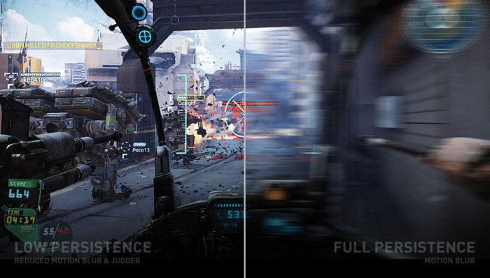 빠른 화면 전환이 필요한 VR에는 LCD보다 OLED가, OLED 보다 마이크로LED가 더 적합하다.