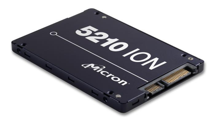 마이크론의 5210 ION SSD는 QLC NAND를 사용할 예정이다.