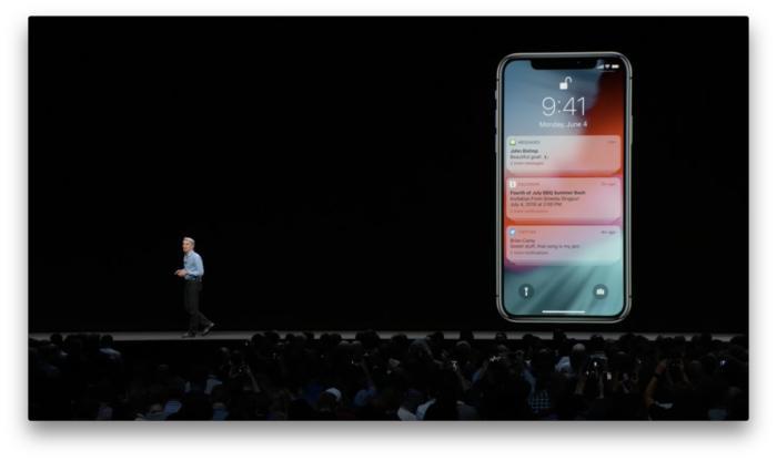 iOS 12에서 마침내 알림을 그룹으로 묶을 수 있게 됐다.