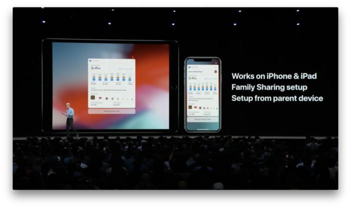 iOS 12에서 부모들은 아이들의 관련 습관을 좀 더 통제할 수 있다.