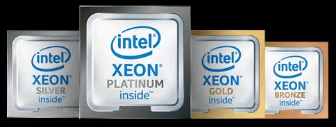 인텔 스케일러블 프로세서의 라인업 구성