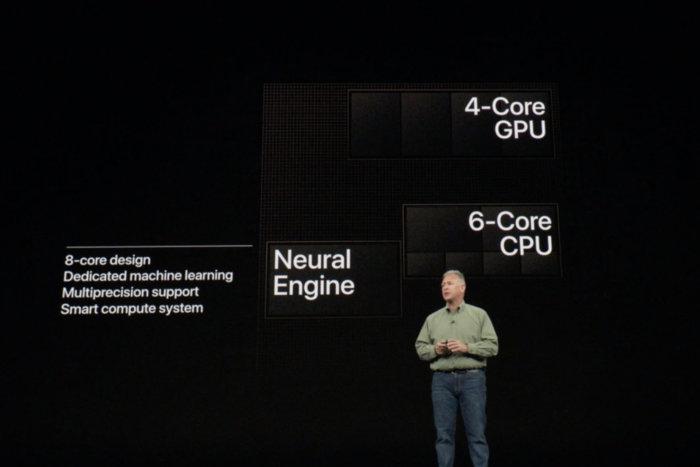 애플은 이미 극강의 성능을 자랑하는 A11 바이오닉을 더 개선한 A12 바이오닉을 아이폰 XS에 사용했다.