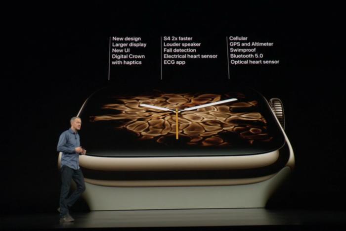 애플 워치 시리즈 4의 새 기능