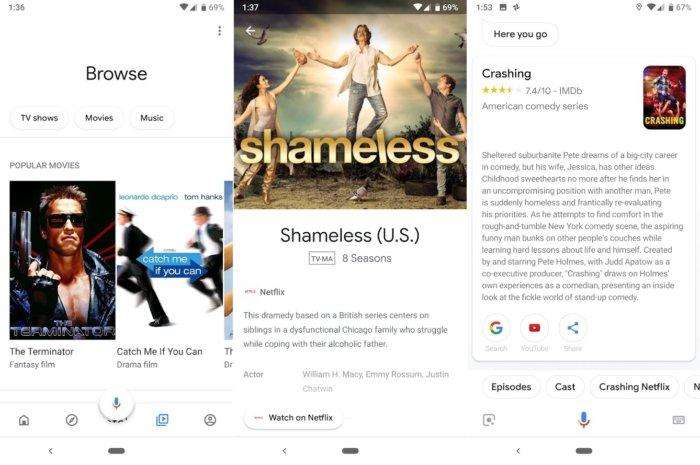 구글 홈 앱으로 콘텐츠를 탐색하고 검색할 수 있지만, 다른 스트리밍 디바이스들은 훨씬 더 많은 기능을 지원한다.