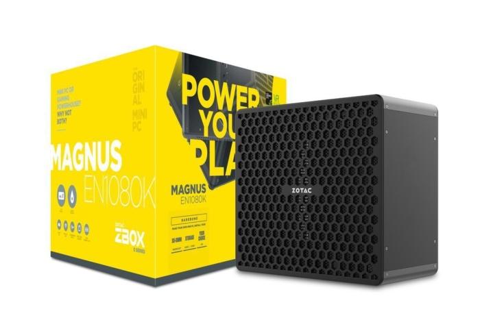 조택의 최고사양 미니 PC는 현재 코어 i7-7700과 GTX 1080을 탑재하고 있다.